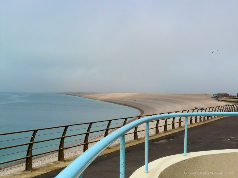 View of Chesil Beach, Dorset
