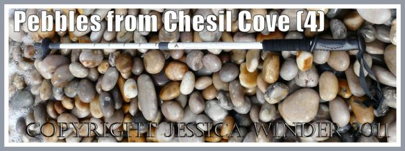 Chesil Beach pebbles: Larger sized pebbles from the eastern end of Chesil Beach at Chesil Cove, Portland, Dorset, UK - part of the Jurassic Coast (4)