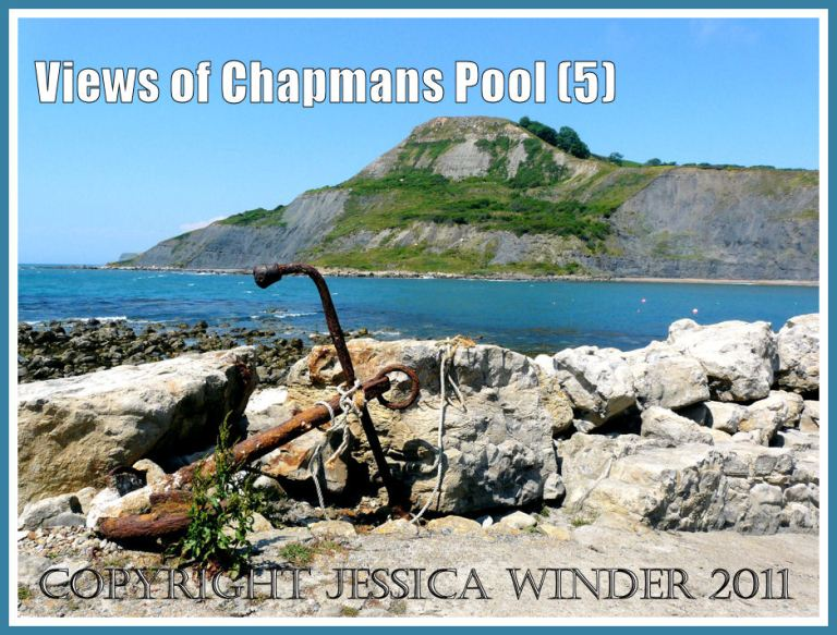 View across Chapmans Pool to Houns Tout in Dorset, UK, on the Jurassic Coast (5)