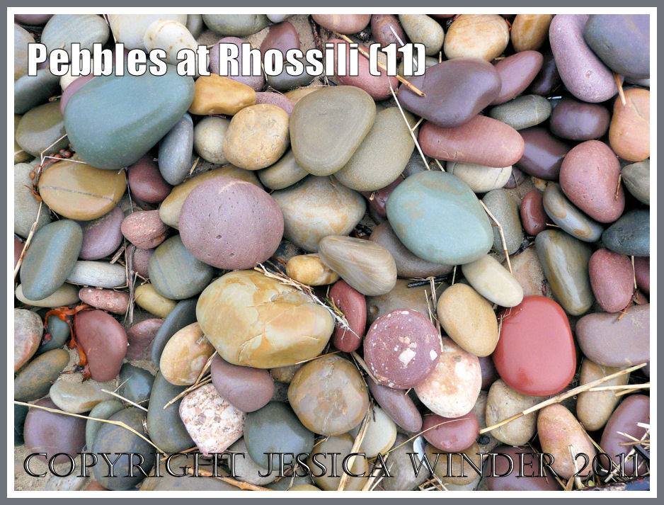 Coloured Stones For Gardens Pebbles at rhossili part 3 jessicas nature blog wet pebbles on the beach wet multi coloured pebbles on rhossili beach gower workwithnaturefo