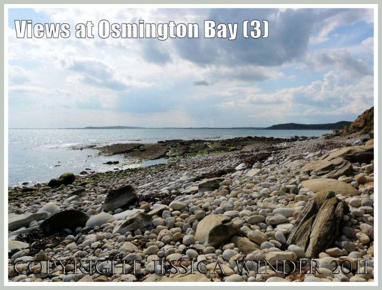 View of Osmington Bay, Dorset, UK, looking west towards Weymouth - part of the Jurassic Coast (3)