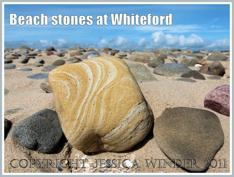Beach stones at Whiteford Sands, Gower, South Wales, UK (1)