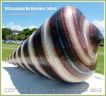 Telescopus by Dominic Johns - A sculpture on the esplanade at Cairns, Queensland, Australia.