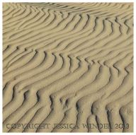 SAND 1 - Sand ripple pattern on Rhossili Beach. There are lots of photographs of sand patterns and textures in the SAND category of Jessica's Nature Blog.