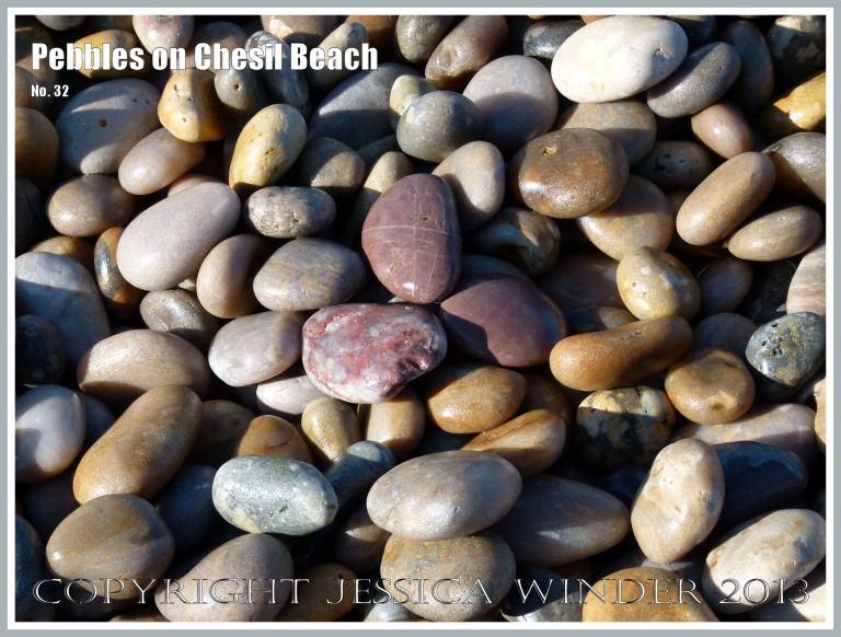 Pebbles on beach