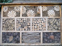 Artificial habitat for encouraging insect biodiversity and conservation