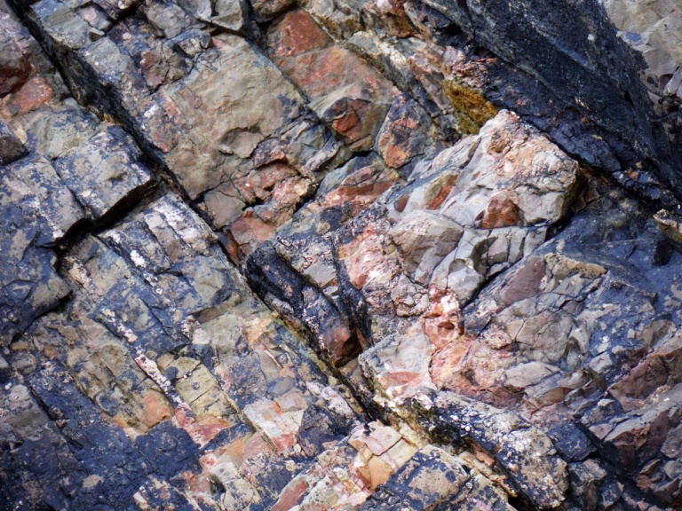 Carboniferous Limestone rock textures and patterns