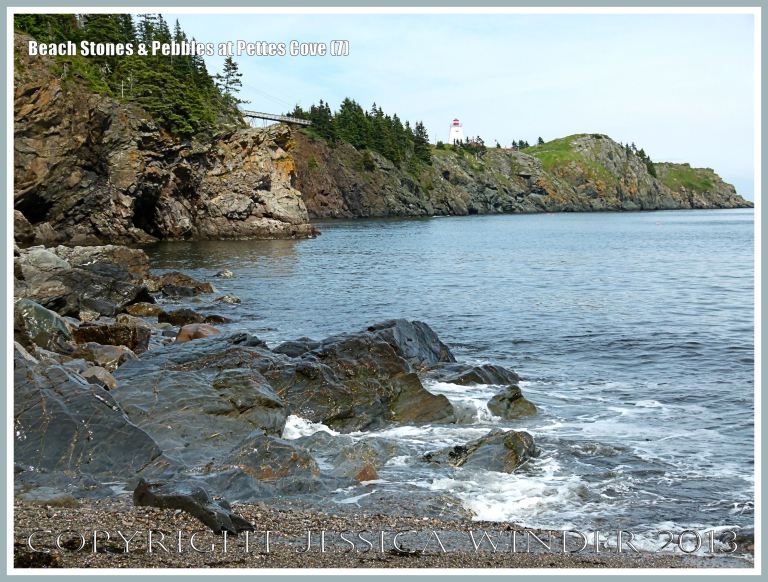 View at Pettes Cove on Grand Manan Island, New Brunswick, looking northeast towards Swallow Tail Point