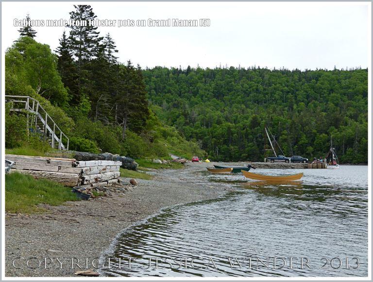 Shore line at Dark Harbour