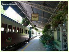 View of the railway station at Kuranda