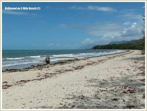 Three Mile Beach at Port Douglas in Queensland, Australia