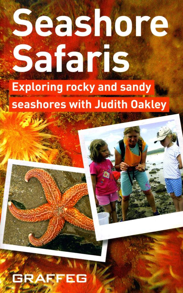 """Front cover of the book """"Seashore Safaris"""" by Judith Oakley"""