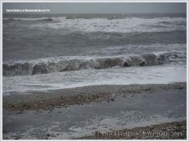 Wintry seas at Monmouth Beach