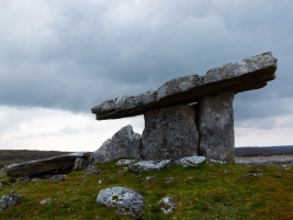 Irish Neolithic stone tomb