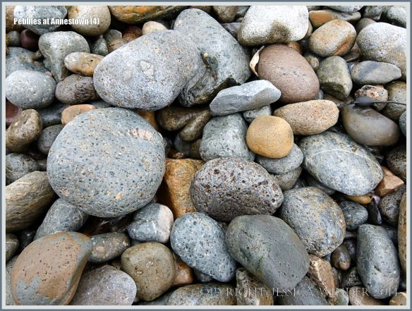 Pebbles on a Copper Coast beach