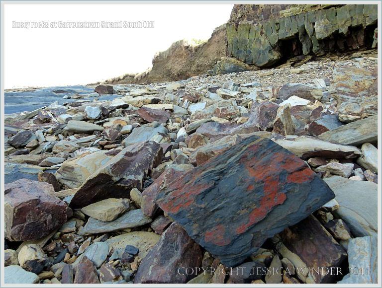 Beach stones at Garrettstown
