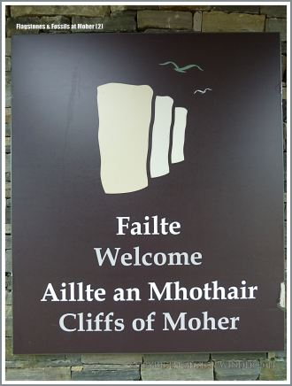 Sign for the Cliffs of Moher