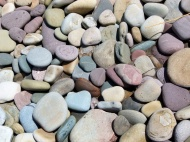 Pebbles on a Gower beach