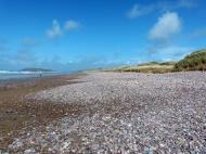 Pebbles on a Gower beach