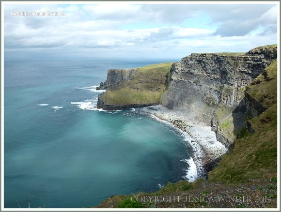 The Cliffs of Moher, looking northeast