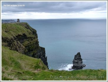 An Branan Mor sea stack at the Cliffs of Moher