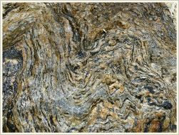 Natural pattern in bedrock on Normanby Island
