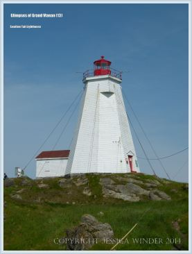 Swallow Tail Lighthouse on Grand Manan