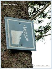 Warning sign on Grand Manan