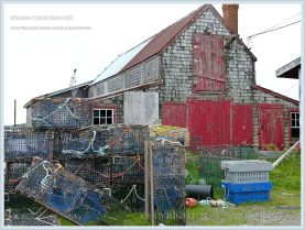Old herring smokehouse on Grand Manan