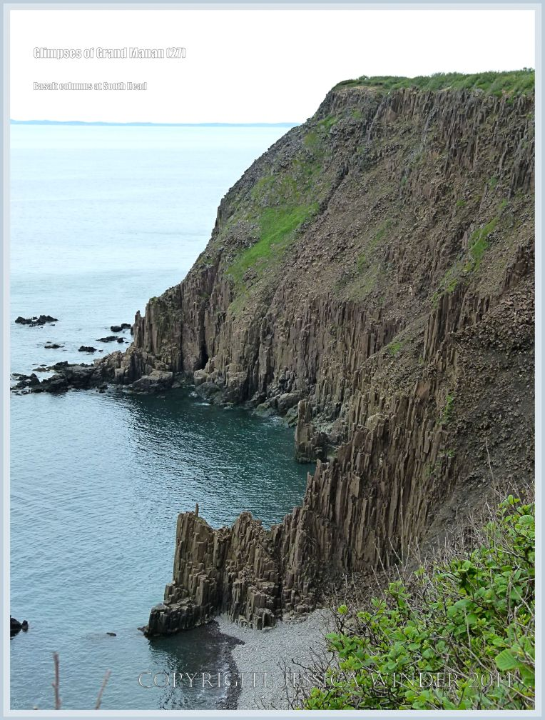 South Head columnar basalt on Grand Manan