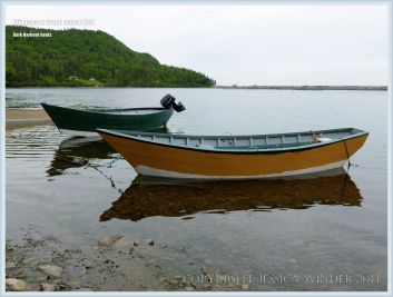 Small boats at Dark Harbour on Grand Manan
