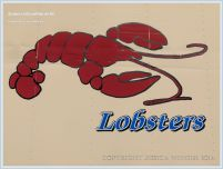 Lobster sign on side of van on Grand Manan