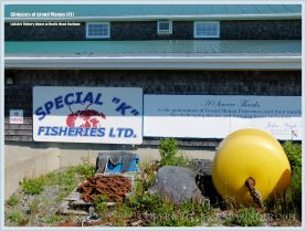 Lobster transit depot on Grand Manan