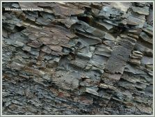 Natural abstract patterns and textures in rocks