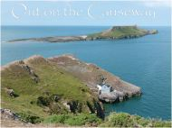 Looking down to the Worms Head at high tide