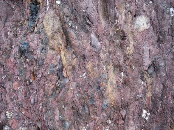 Close-up of Trabeg Conglomerate Formation