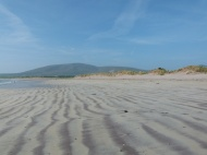 View of the beach at Ventry