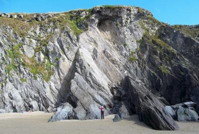 Devonian Dingle Group strata at DunmoreHead