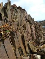 Silurian rocks at Smerwick Harbour