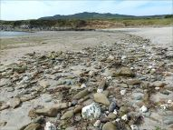 Beach stones and pebbles at Ferriters Cove on the Dingle Peninsula