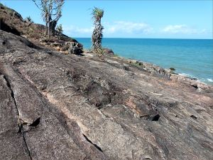 Rocky outcrop near the Lookout at Four Mile Beach in Port Douglas