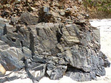 Cornish rock texture and pattern