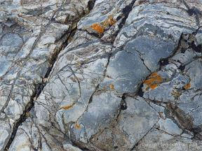 Rocks from Porthmeor Beach at St Ives