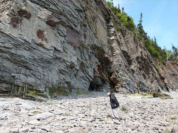 The cliffs at Cape Enrage