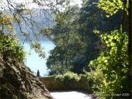 View approaching Moulin Huet Bay