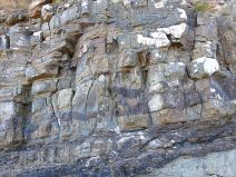 Natural rock textures and patterns