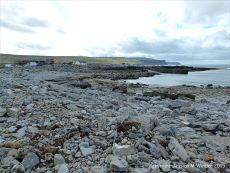 View across the shore to Doolin Quay, County Clare, Ireland.
