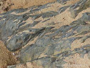 Carboniferous Avon Group rocks at Three Cliffs Bay