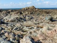 Outcrop of L'Eree Granite