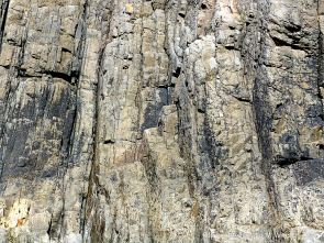 Rock pattern and texture in Carboniferous Limestone